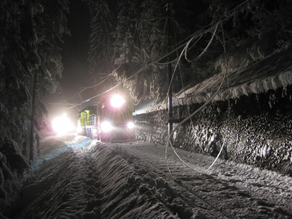 Since 2007, the MTW24401 has been doing hard work in all weathers in Alpine terrain.