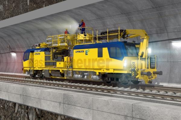 Im Arbeitseinsatz fährt der HTW 100 E³ mit elektrischem Antrieb über neueste Akkutechnik – das reduziert Lärm und CO₂-Emissionen.