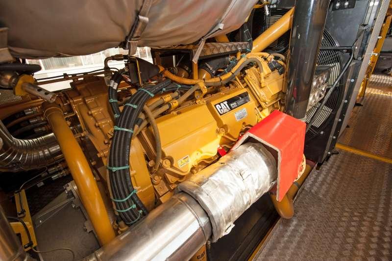 Dieselmotor des Dynamic Stopfexpress 09-4X E³