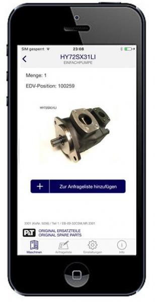 Smart Catalog App Einfachpumpe