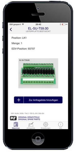 Smart Catalog App Leiterplatte