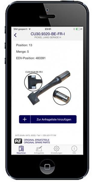 Smart Catalog App Stopfpickel