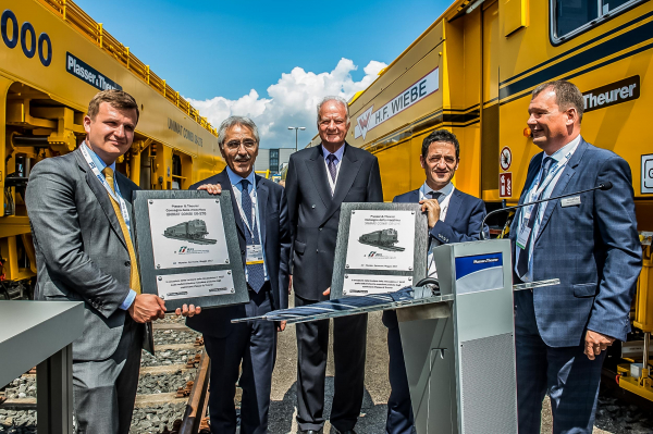 Every machine handover is a new highlight in the partnership between Plasser & Theurer and our customers.