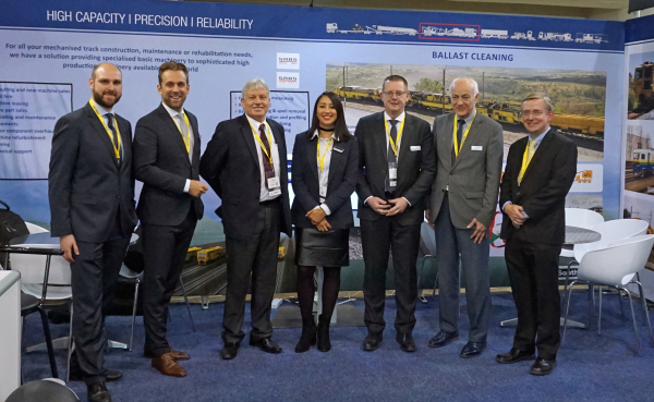 Africa Rail 2017 - With Plasser South Africa on one of the largest trade fairs in Africa