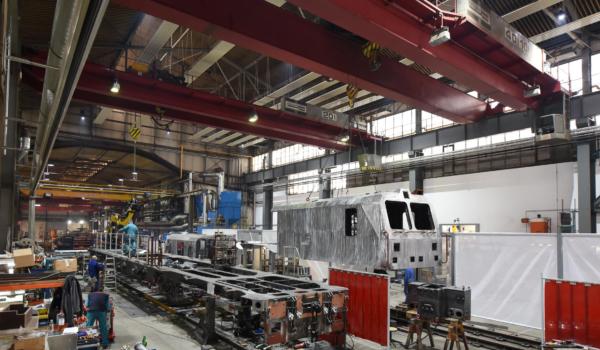 Die GAF gehören zur Typenreihe der Multifunktionalen Instandhaltungsfahrzeuge StreckeninfraStruktur (MISS). © DB Netz AG
