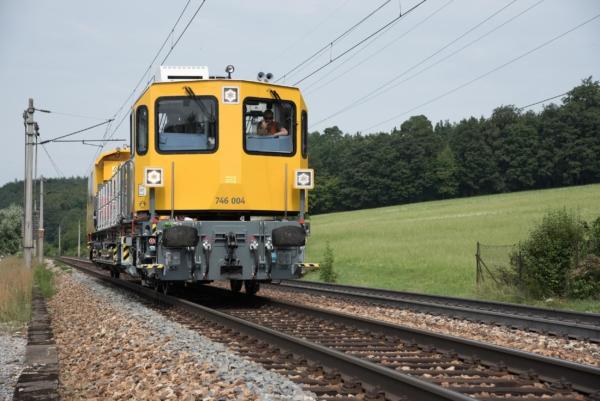 Von den 28 GAF der neuen DB-Baureihe 746.0 werden 2018 die ersten sechs Exemplare in Dienst gestellt. © DB Netz AG