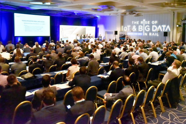"In late May 2018, the international conference series on ""The Rise of IoT & Big Data in Rail"" started in Munich."