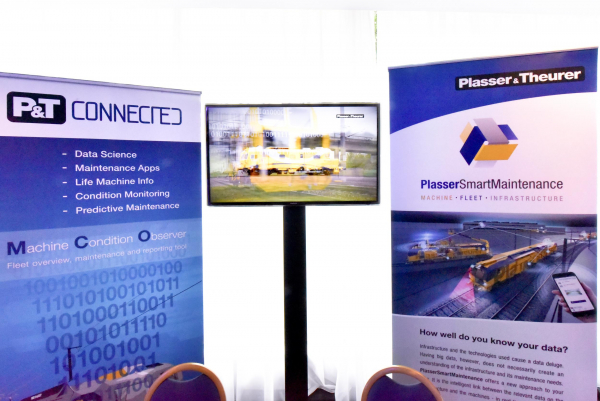 First-hand information from P&T Connected and PlasserSmartMaintenance at the sidelines of the conference