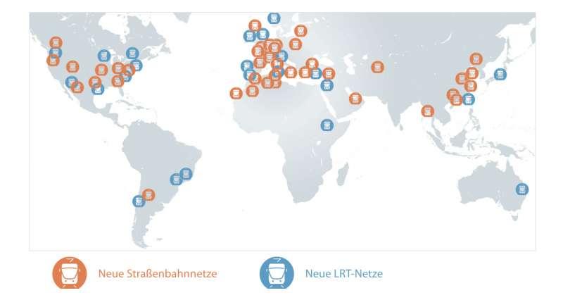 Neue Straßenbahnnetze, Neue LRT-Netze