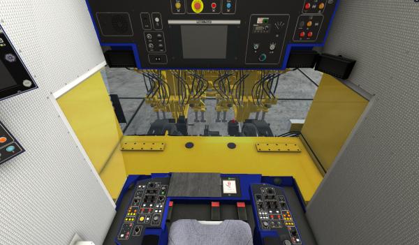 En colaboración con PMC Rail se creó un modelo detallado de una Unimat 09-4x4/4S. Utilizando la herramienta VR, nuestros expertos acompañan a los operadores virtualmente a través de la máquina.