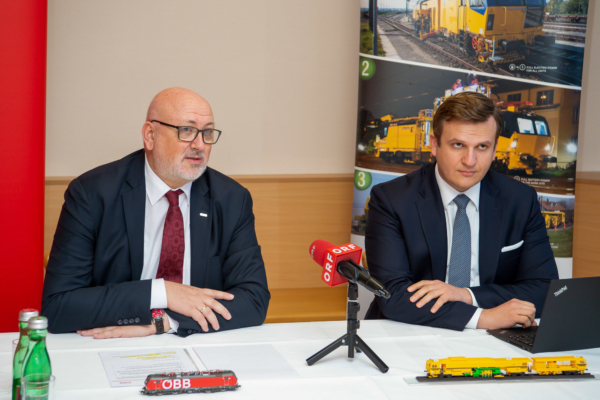 On 29th March 2019, Andreas Matthä, the CEO of ÖBB Holding, visited Linz.