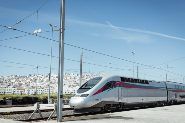 The Maghreb kingdom of Morocco is making rapid progress with the construction of its high-speed network, just like its role model, the French TGV. Photo © Alstom