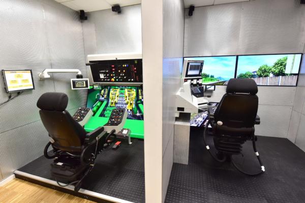 Los simuladores de bateo se han mudado de Bingen a Opladen. Y se añaden otros, destinados a la formación de maquinistas de locomotoras.
