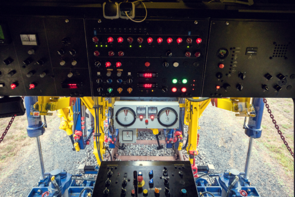 A look inside the machine shows how thoroughly and comprehensively the modernisation is carried out.