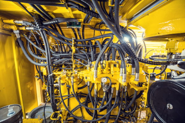 This machine's hydraulic system was completely renewed.