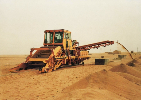 Forty years of time-tested technology: an SRM 500 pictured in Sudan